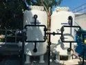 Mild Steel Activated Carbon Filtration Water Treatment System, 0-40 Mm