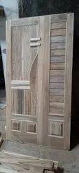 Wood Polished Interior Veneer Door, Wooden