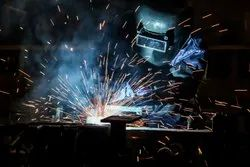 Mechanical Test By Tensile Test - For Welder Qualification Test