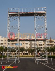 Bridge Type Mobile Aluminum Scaffold Tower