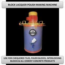 Block Lacquer Polish Making Machine