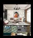Vinyl Royal Pattern Urban Wallcoverings, For Hotel, Size: 0.53x10m