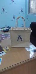 Fancy design jute thamboolam bag