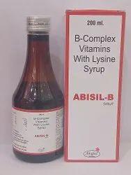 B Complex Vitamins With Lysine Syrup
