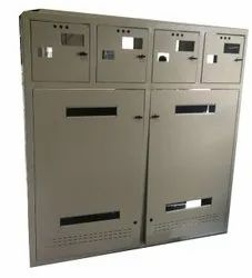 Stainless Steel Rectangular Industrial Control Panel Box, Size/Dimension: 3 X 1 X 4 (l X B X H)