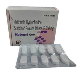 Metformin Hydrochloride Tablets I P