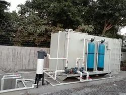 Kitchen Waste Water Treatment Plant, 100 m3/hour, Capacity: 500 Mkld