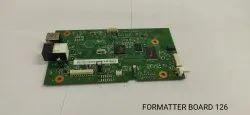 Formatter Board 126