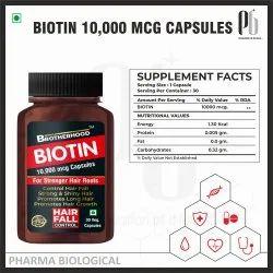 Brotherhood Biotin Capsules