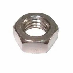 304 Stainless Steel Hexagonal Nut, Thickness: 1inch