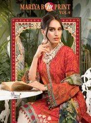 Shree Fabs Mariya B Mprint Vol 9 Cotton Pakistani Dresses
