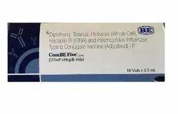 Pentavalent Combe Five Vaccine, Single Dose, Treatment: Dpt+hib+hep-b