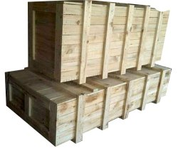 Hard Wood Industrial Wooden Packaging Box, Size(LXWXH)(Inches): 72 X 24 X 12inch (h X W X L)