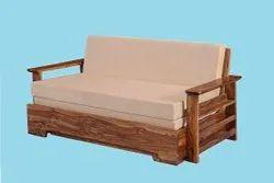 Sheesham Wood Sofa Cum Bed