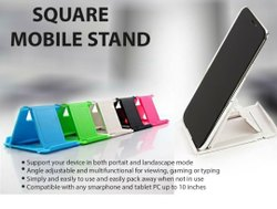 Square mobile stand