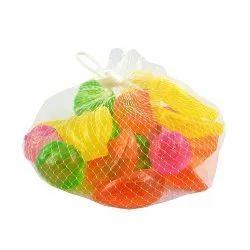 12 pcs Silicone Fruits Shaped ice Cubes