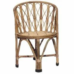 Natural Bamboo Cane Chair