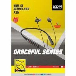 KDM-G1 X25 Wireless Magnetic Adjust Neckband Headset