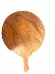 Wood Pizza Plates