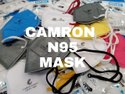 N95 Camron Face Mask with 5 Layer WHO-GMP, ISO 9001:2015, ISO 13485:2016, CE, BIS