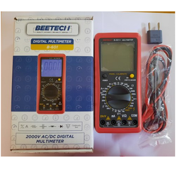 2000V Ac/Dc Solar Multimeter Beetech B-601