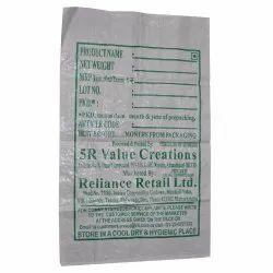 Printed Plastic Bag, Capacity: 20 kg