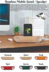 Happy Bamby Bamboo Speaker / Sound Enhancer, For DESKTOP, Finish Type: NATURAL