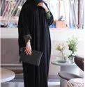 Nida Plain Ladies Simple Abaya