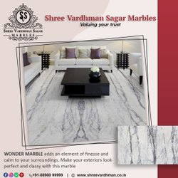 Wonder White Marble shree vardhman
