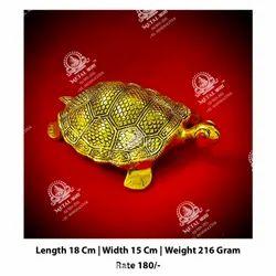 Golden Tortoise Statue