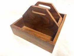 Wooden Table Caddy