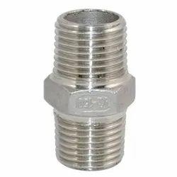 202 Stainless Steel Hex Nipple