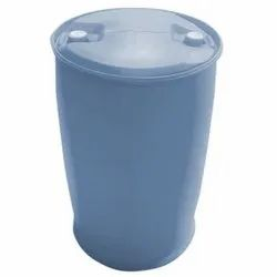 Light Blue Cylindrical 210L Plastic HDPE Drum, For Edible Storage