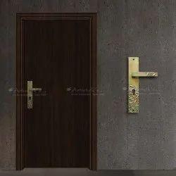 With Brass Door Handles