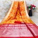Weaving Jacquard Saree