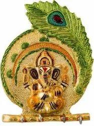 Metal Multicolor Ganesh Key Holder For Home Decoration & Corporate Gift