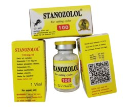 100mg/ml Stanozolol 100 Cutting Cycles Injection For Muscle Building, Packaging Size: 10ml