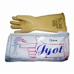 Unisex Large 11 KVA Jyot Electrical Safety Hand Gloves