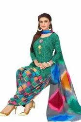 Leon Multicolor Printed Ladies Dress Material