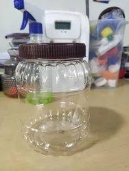 ski Transparent 750 Gram Round Jar, For Storage, Weight: 33