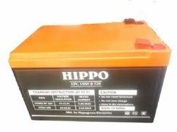 Hard Plastic Zatka Machine Battery, 12 V