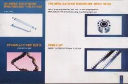 Clutch, Guide Roller, Lap Spindle, Spindle Guide Sheet, Piv Chain, Finger Plate