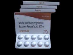 AVUGEST-200 Progesterone 200 sr tab  10X1X10