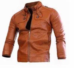 Men's Moto-racer Leather Jacket