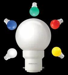 Nordusk Nova B 0.5 Watt Multicolour LED Night Bulb, For Multi Purpose