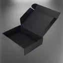 Plain Black 3 Ply Corrugated Box