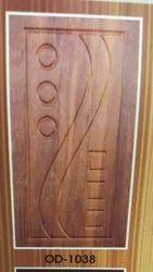 7feet Brown Finished Membrane Door, Door Thickness: 30mm