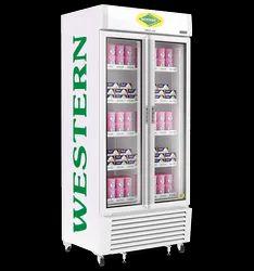 Western Two Door Visi Cooler