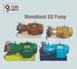500m Monoblock SS Pumps, Max Flow Rate: 1000 Lpm