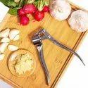 Stainless Steel Garlic Press Quick Hand Squeeze Garlic Press